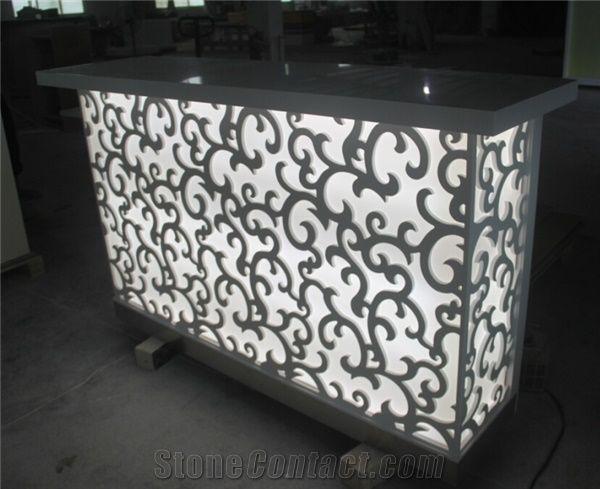 Led Bar Counter Design Luxury Small Bar Counter Acrylic