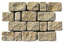 G672 Putian Rust Granite Wall Stone