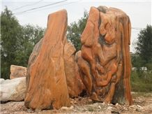 Wellest Landscape Boulder Stone, Landscape Decoration Rock, Garden Stone, Garden Rock,Item No.Lss003