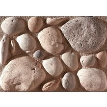 Wellest Manmade Artificial Pebble Stone for Wall, Fireplace Breast,Item No. Wte-02