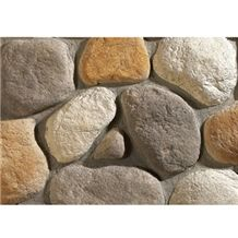 Wellest Manmade Artificial Pebble Stone for Wall, Fireplace Breast,Item No. Wte-E-01