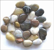 Wellest Polished Multi Color Natural Pebble Stone,River Stone,Gravels,Item No.Sps206