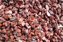 Wellest Super Small Red Color Gravels,Natural Pebble Stone,River Stone,Item No.Sps214