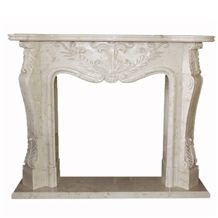 Wellest White Marble Fireplace Model No.Sfp002