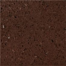Wellest Wis006 Brown Galaxy Quartz Tile and Slab