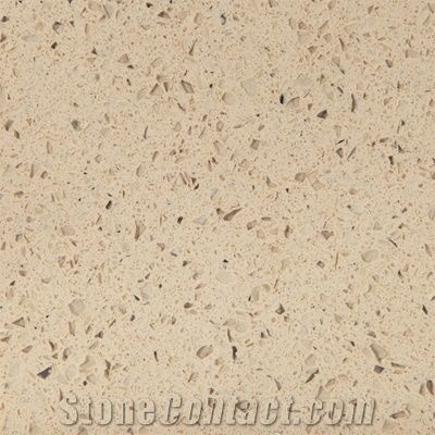 Wellest Wis016 Beige Galaxy Quartz Tile And Slab From