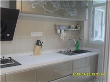 Giga Artificial Marble Counter,Vanity Tops, White Quartz Vanity Tops