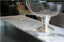 Giga Nature Stone Marble Countertops Nj, Of Volakes White Marble Countertops