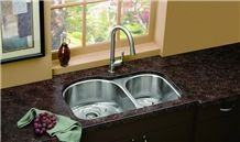 Giga Tan Brown Granite Kitchen Countertops