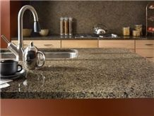 Giga Tropical Brown Granite Kitchen Countertops