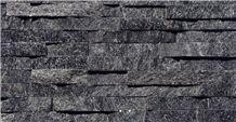 Black Quartzite Panel Stone Wall Ledges,Cultured Stone