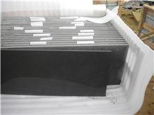China Black Sandstone Slabs & Tiles