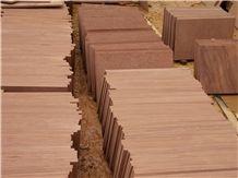 China Pink Sandstone Slabs & Tiles