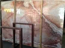 Red Dragon Jade Marble Slabs & Tiles, China Red Marble