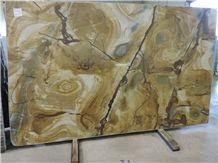 Palomino Quartzite Slabs, Brazil Yellow Quartzite