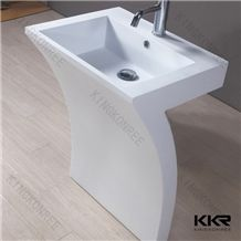Kkr Fire-Proof Solid Surface Freestanding for Sale