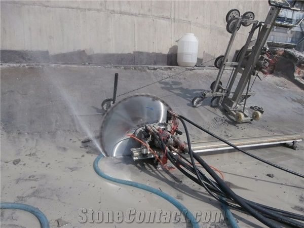 Strange Bs 600Tm Concrete Wall Saw Hydraulic Wall Cutting Machine For Wiring Cloud Inamadienstapotheekhoekschewaardnl