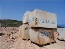 Marble Blocks Of 4 Corners Of the World, Thala Beige Limestone Block
