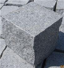 Lowest Price Pavers, G341 Grey Granite Pavers/Cube Stone/China Grey Granite Cobble Stone