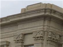 Armenian Gold Felsite Stone Building, Masonry