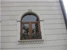 Armenian Gold Felsite Stone Window Sills, Arches, Frames, Surrounds