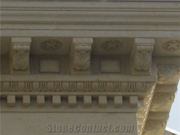 Cornices, Arches, Angular Stones and Architectural Building