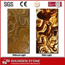 Wall Panelling Translucent Resin Panel Tr2001