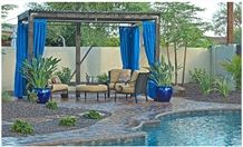 Berea Sandstone Pool Terraces