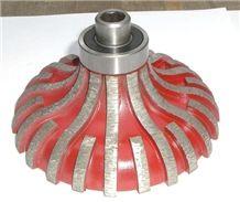 F Shape Granite Edge Profile Wheel,Milling Wheel