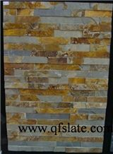 Exterior Natural Rusty Slate Cultured Stone for Wall Stone