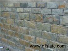 Natural Rusty Slate Mushroom Stone, Multicolor Mushroom Stone Wall Stone