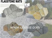 Slate Stone Random Flagstone,Paving Stone,Flooring Slate