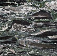 Yunnan Green/Seawave Green Flooring/Walling Chinese Green Granite Tiles & Slabs