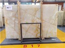 Bc White Onyx Slabs & Tiles