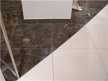China Dark Emperador Marble Slabs & Tiles
