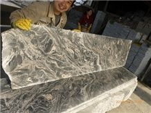 Juparana Light Grey Granite Slabs & Tiles