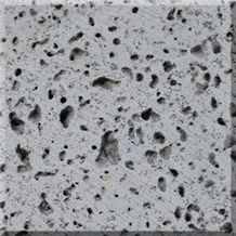 Lava Stone C Cut to Size & Tiles, Hainan Black Basalt Tiles