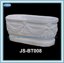 Cheap Antique White Marble Bathtub, Natural White Marble Bathtubs