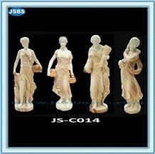 Hand Carved Natural Marble Stone Statue
