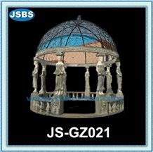 Natural Stone Marble Gazebo Canopy