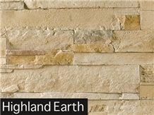 Highland Earth Sandstone Veneer Stone Cladding