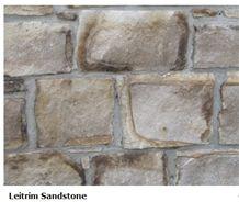 Natural Face Leitrim Sandstone Walling