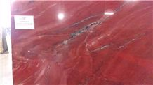 Xangoo Red Quartzite Slabs, Brazil Red Quartzite