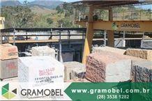 Branco Itaunas Granite Blocks, Brazil White Granite