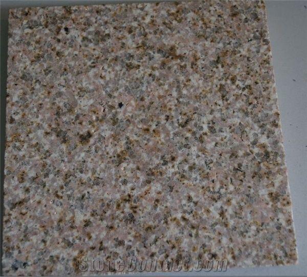 Golden Flower Granite Slab Yellow Granite From China