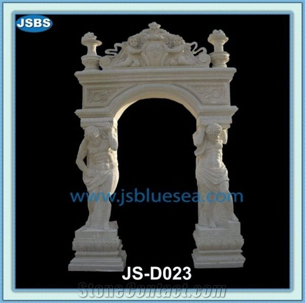 Stone Arch Door Frame Carving From China 283105