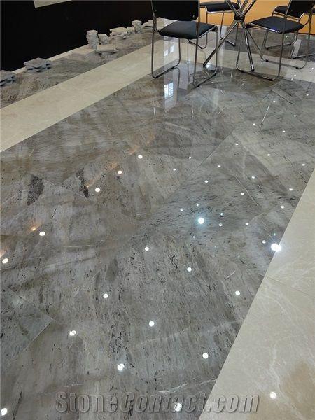 Turkey Grey Emperador Marble High Gloss Polished Slabs