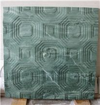 3d Wallpaper Decorative Wall Panels, Green Marble Home Decor