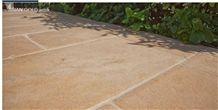 Asian Gold Antik Patio Garden Pavement