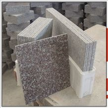 Our Quarry New G664 Pink,G361 Polishing Granite Flag Slab,Thin Tiles, Polished Tiles Flooring and Wall Covering, Big Random ,Countertop,Cheap Price Natural Building Stone